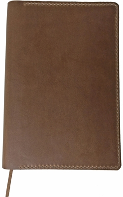 One Star Horween CXL Natural Leather Waterproof Bible Cover
